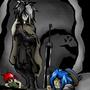 In the cave by MasterOfDarkArts