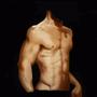 Brad Pitt Bust by newbienalwayswillbe
