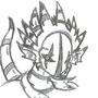 DiStOrTiO-Headshot sketch by BattleDragonGargonis