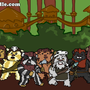 Ewoks by yellowbouncyball