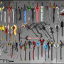 Weapon Collection by matt-likes-swords