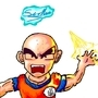 Krillin by toonclaw