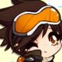 Tracer Overwatch Chibi