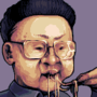 The great Kim Jong-il by ElkDarkshire