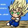Majin Vegeta be afraid by MsDBZbabe