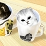 Kitten In Cups by zenyara