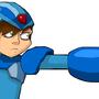 Mega Man X_X by Karlossy