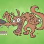 Dale & Peakot Coyote Wallpaper by JuicyBeast
