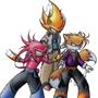 Super Sonic Heroes by deebznutz