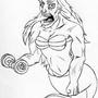 Arielle the mermaid by 2Crank