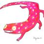 Pink Salamander by migbez