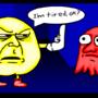 pac-man is tired :( by Dan-Dark