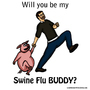 Swine Flu Buddy by RandomFilms