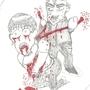Bloody Cartoon by Unholyninja