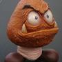 Realistic Goomba Xmas Ornament by Kalapusa