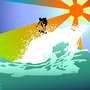 Sun and Surf by Lumination