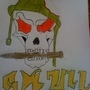 Army Skull by walterwagner