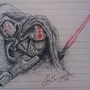 Bored at Work - Blind Sith by Death-In-Red-Satin