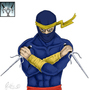 Awesome Ninja Dude Lvl 35 by Fifty-50