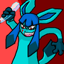 Disgruntled Glaceon by Sakuya-Himura