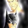 Batman and Bruce by Robobotnik
