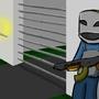 Random Guy with Gun by YourBuddyJake