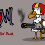 Growl The killin' duck by CheGuiterra
