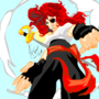 Red Pirate Roberta by herby62