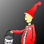 Creepy Santa by CreativeCoding