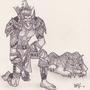 Troll hunter by Phatess