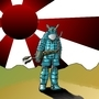 Blue Samurai by nerfguy3million