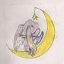 Momo The Moon Bunnie by SkullPrincessKannon