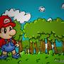 Baby Mario by Sevengard