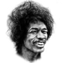 Jimi Hendrix by Willeeto