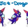 Jet-Dragon Concept Art by Sephyfluff