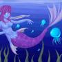 Mermaid by torithefox
