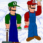 Real Mario and Luigi by Makaga