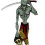 Zombie Samurai by paulgroth1130
