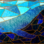 Stained Glass Whale by Sh0T-D0wN