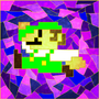 Stained Glass Luigi by Sh0T-D0wN