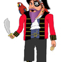 Captain Purple Beard ! by The-Emard
