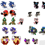 My Custom Sonic Sprites by mckgeno66