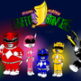 Mighty Morphin Griffin Rangers by GreenRangerStew