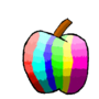 rave apple by funkymetroid