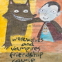Werewolves and vampires by KanchiArdilla