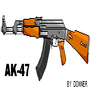 AK-47 by DonnerTheMitan