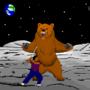 Bear Fight by PJTrinidad