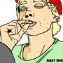Raffael Couchman Diggens by Blobbycartoons