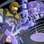 Master CHief and Cortana by matty-moolon