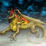 Gold Dragon by Darkwyrm